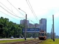 Санкт-Петербург. Трамвай 71-134К (ЛМ-99К) № 8324+8321, маршрут 52
