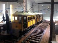 Макет трамвайных вагонов