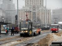 Москва. 71-619А (КТМ-19А) №2140, Tatra T3 (МТТА-2) №2323
