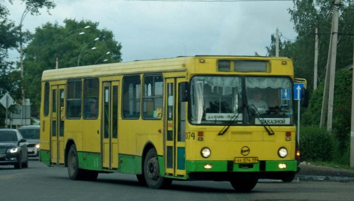 Липецк. ЛиАЗ-5256.40 аа074
