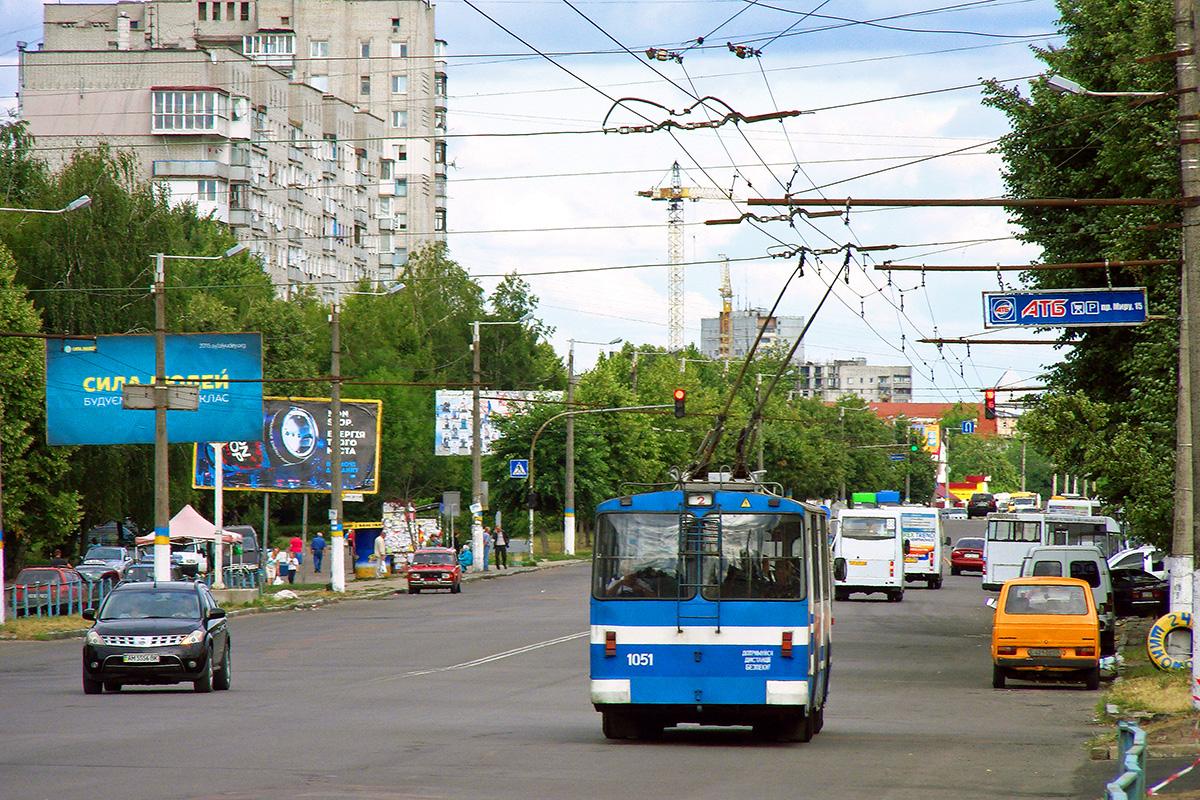 Житомир. ЗиУ-682Г00 №1051