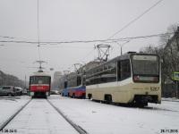 Москва. 71-619К (КТМ-19К) №5267, Tatra T3 (МТТА-2) №2333