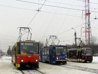 Тула. Tatra T6B5 (Tatra T3M) №322, Tatra T6B5 (Tatra T3M) №341, 71-407 №4
