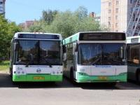 Москва. ЛиАЗ-6213.21 ка664, МАЗ-107.466 ео602