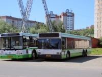 Москва. ЛиАЗ-6213.20 ео653, МАЗ-107.066 ее086