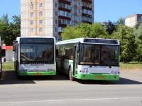 Москва. Волжанин-6270.06 ео656, ЛиАЗ-6213.20 ео692