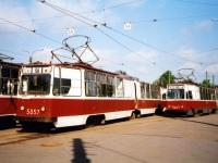 Санкт-Петербург. ЛВС-86К №5057, ЛМ-68М №5667