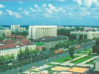 Могилев. Автобусы Ikarus-280