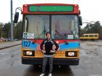 Алёна Кисель и ее троллейбус АКСМ-20101 № 127