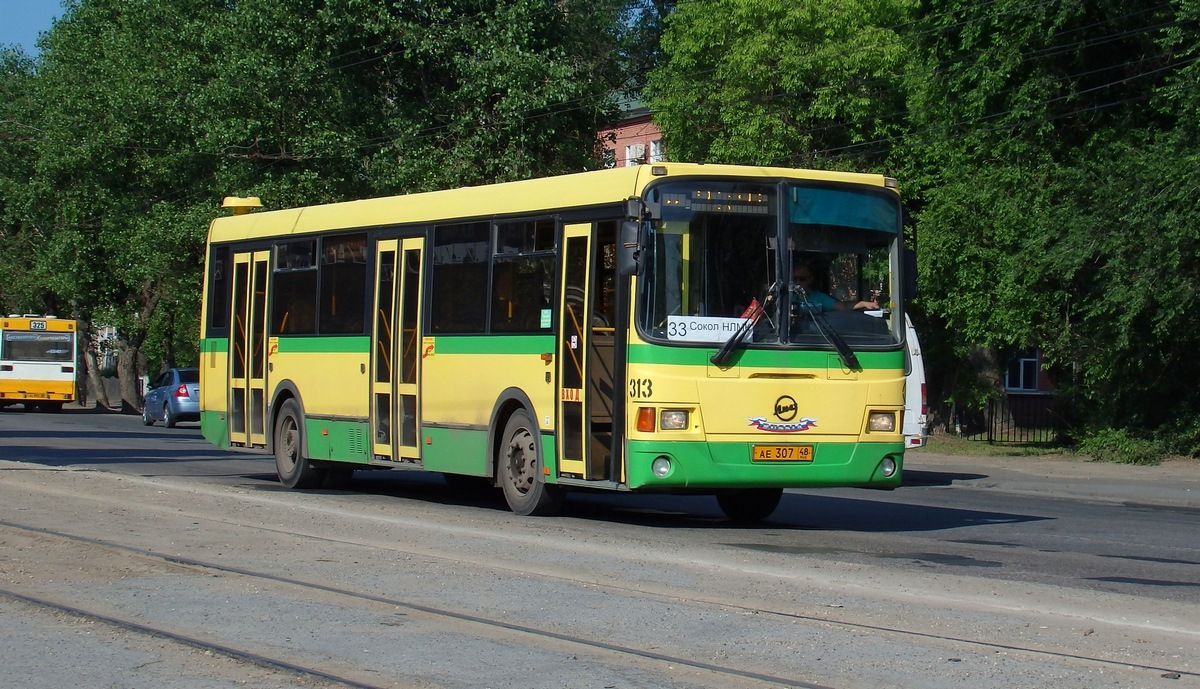 Липецк. ЛиАЗ-5256.53 ае307
