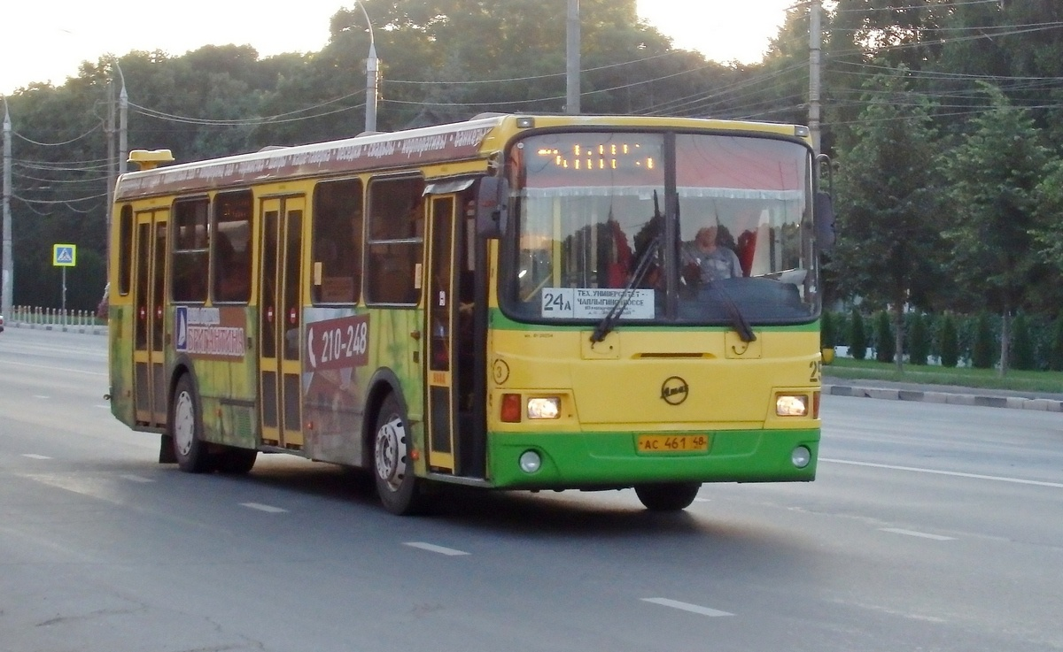 Липецк. ЛиАЗ-5293 ас461