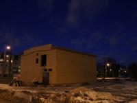 Санкт-Петербург. Конечная станция Малая Охта, строительство подстанции