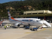 Самолет Boeing 737 (OK-TVV) компании SmartWings