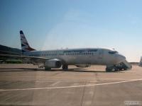 Самолет Boeing 737 (OK-TVP) компании SmartWings