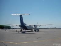Самолет Bombardier Dash 8 (SX-BIO) компании Olympic Airlines