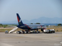 Родос. Самолет Boeing 757 (VP-BLT) компании Azur Air