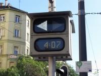 Будапешт. Указатель ближайшего отправляющегося вагона и времени до его отправления