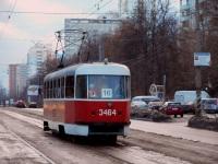 Москва. Tatra T3 (МТТЧ) №3464