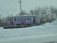 Прокопьевск. Двухосный моторный вагон №17