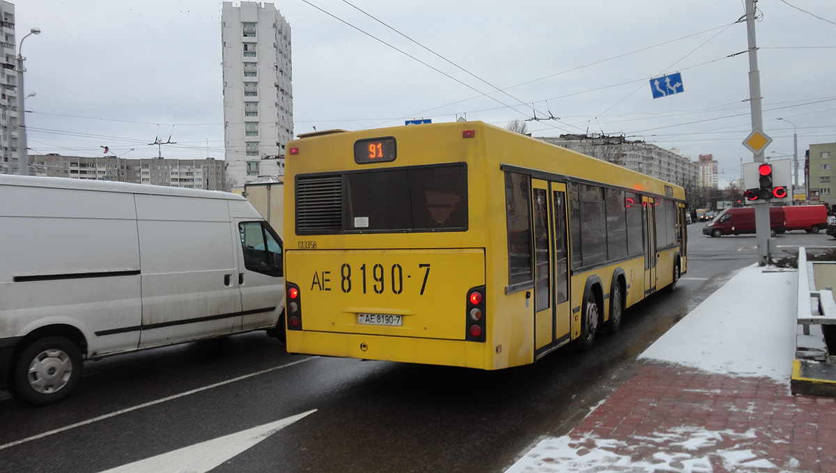 Минск. МАЗ-107.466 AE8190-7