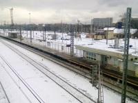 Вид на платформу № 1, открывшуюся после реконструкции