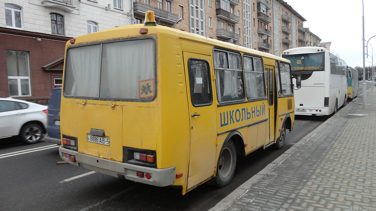 Минск. ПАЗ-3205 8886AB-5