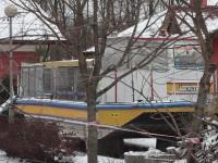 Минск. Прогулочный теплоход Августин на зимовке