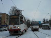 Tatra T3SU №219, 71-608КМ (КТМ-8М) №104