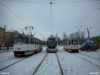 Тверь. Tatra T3SU №310, 71-911 №005, 71-608КМ (КТМ-8М) №102