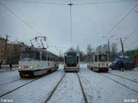 Tatra T3SU №310, 71-911 №005, 71-608КМ (КТМ-8М) №102