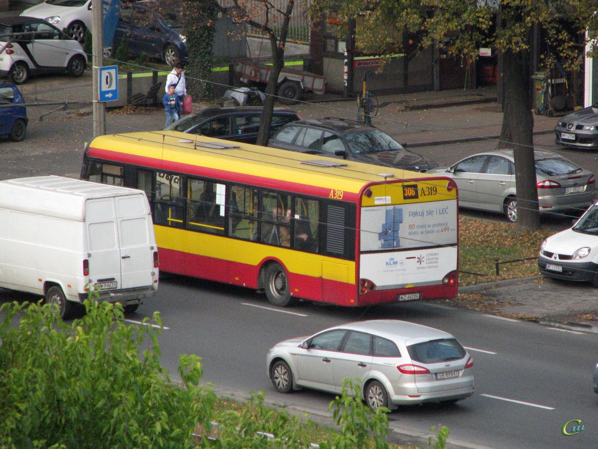 Варшава. Solaris Urbino 10 WZ 6620G