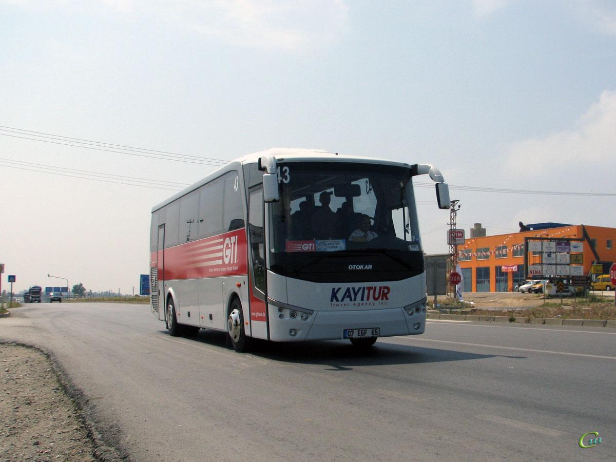 Анталья. Otokar Doruk 215T 07 EGF 65