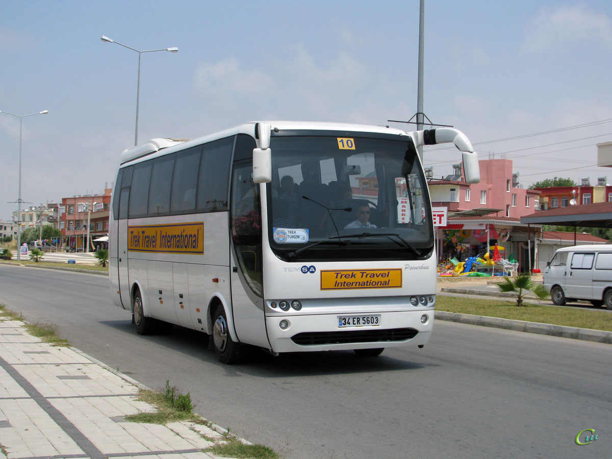 Анталья. Temsa Powerbus 34 ER 5603