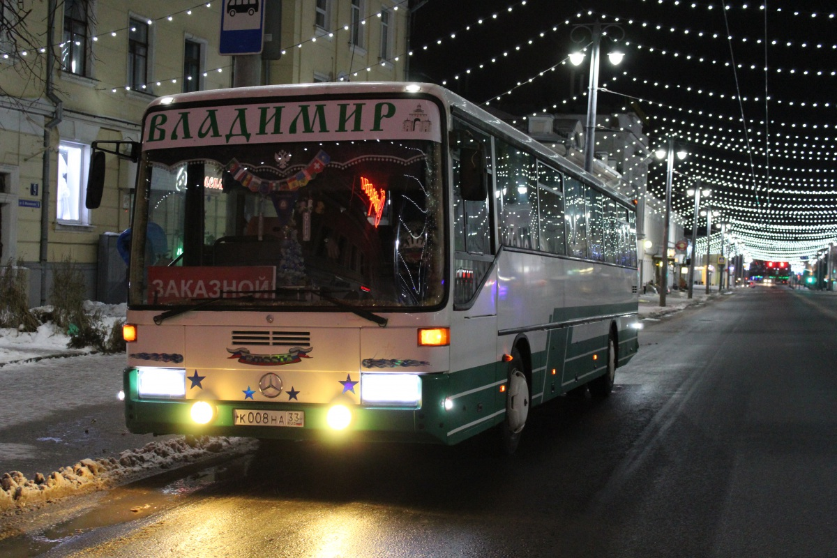 Владимир. Mercedes O408 к008на