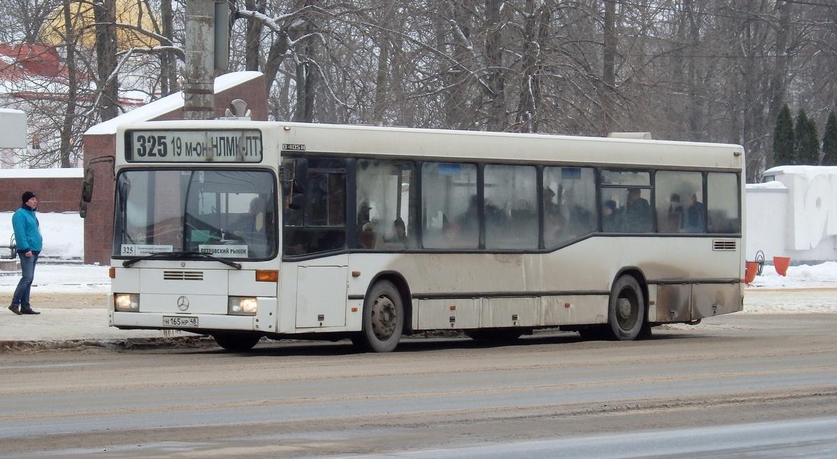 Липецк. Mercedes O405N н165нр
