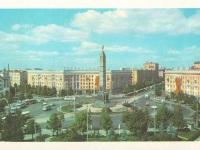 Минск. Автобусы ЛАЗ-695 и троллейбусы ЗиУ-5, ЗиУ-682Б
