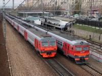 Москва. ЭД4М-0157, ЭР2Т-7156