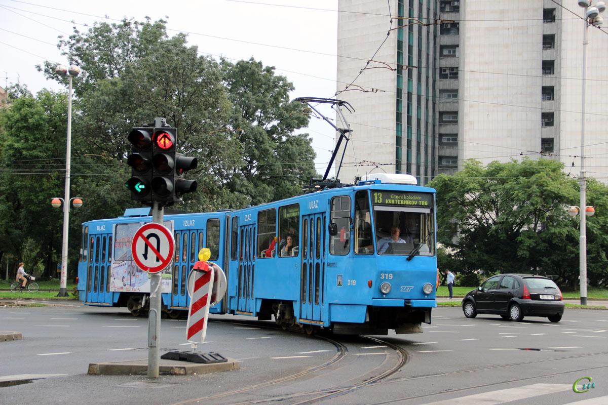Загреб. Tatra KT4YU №319