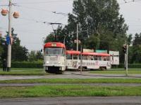Загреб. Tatra T4YU №435, Tatra B4YU №846