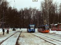 Москва. 71-619К (КТМ-19К) №5344, 71-623-02 (КТМ-23) №2662