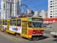 Барнаул. Tatra T6B5 (Tatra T3M) №3158