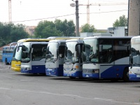 Верона. Dalla Via Tiziano CL 382RT, Iveco MyWay CM 063VZ, Scania OmniLine CZ 640ZS, Mercedes O550 Integro CB 962VA, Autodromo BusOtto BP 179BG