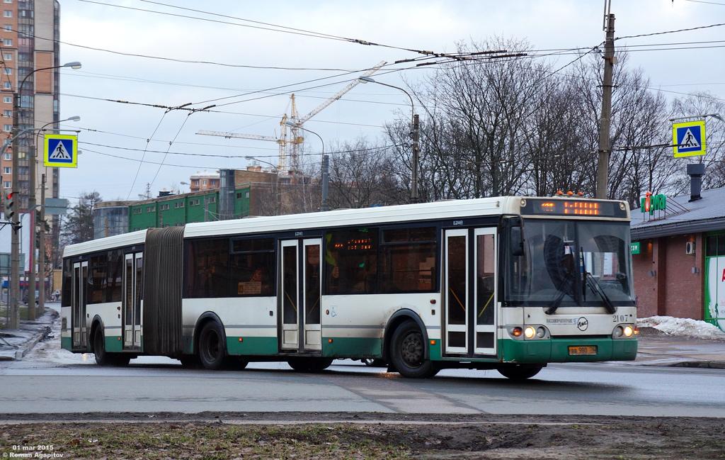 Санкт-Петербург. ЛиАЗ-6213.20 вв980