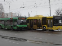 Минск. МАЗ-215.069 AH8956-7, МАЗ-103.065 AE3747-7