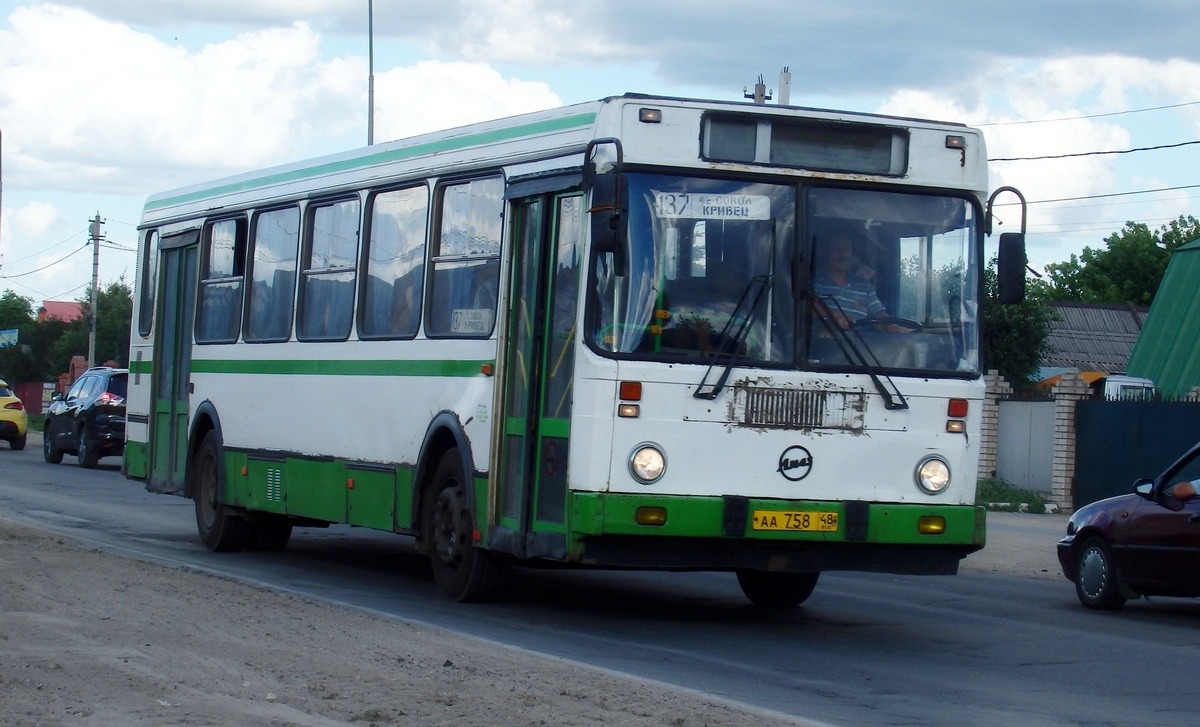 Липецк. ЛиАЗ-5256.40-01 аа758
