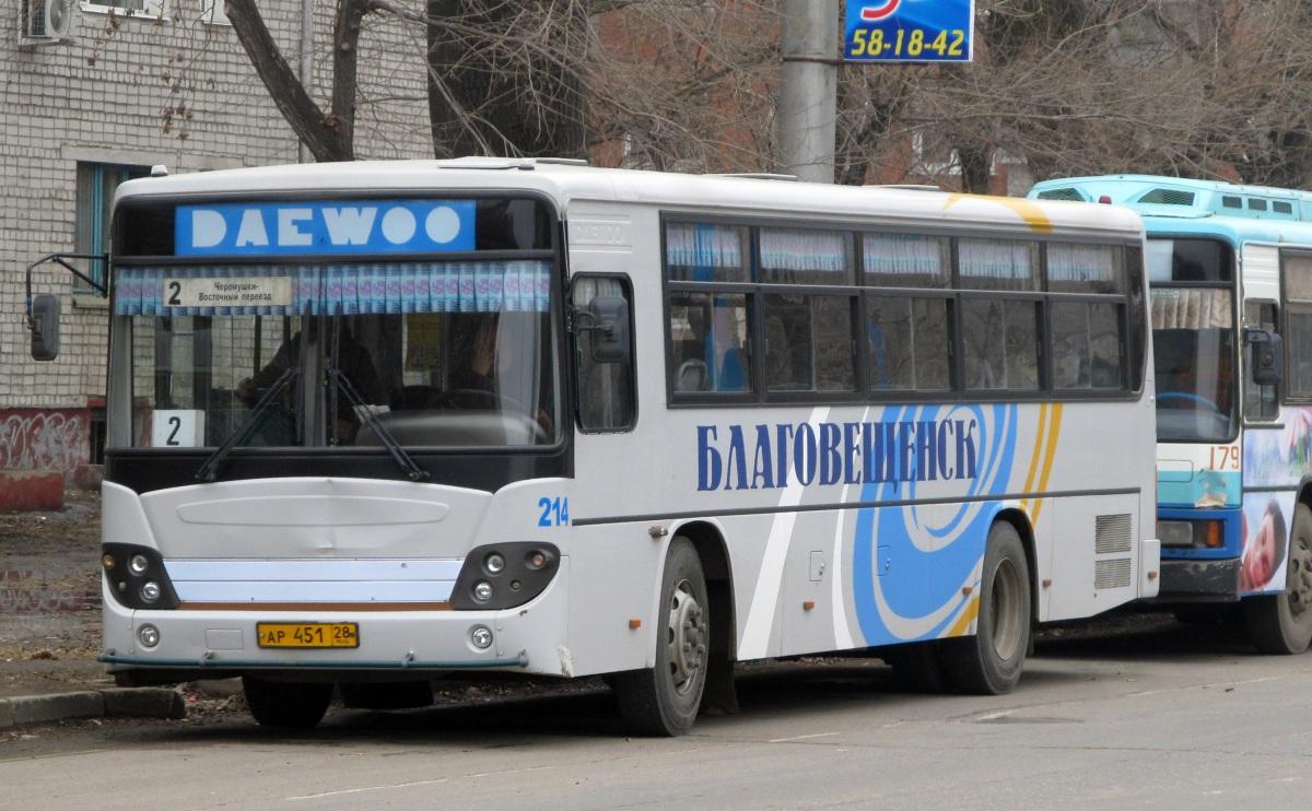Благовещенск. Daewoo BS106 ар451