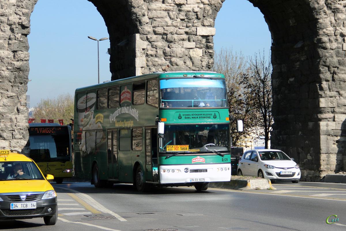 Стамбул. Güleryüz Cobra DD 34 EU 8275
