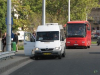 Будапешт. Mercedes O350 Tourismo 9A1 8374, Mercedes Sprinter FJP-495