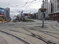 Екатеринбург. Трамвайный перекресток