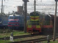 Жмеринка. ЧМЭ3-4450, ВЛ60пк-1984